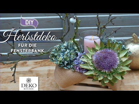 Bild von DIY: schnelle Herbstdeko mit Hortensien [How to] Deko Kitchen