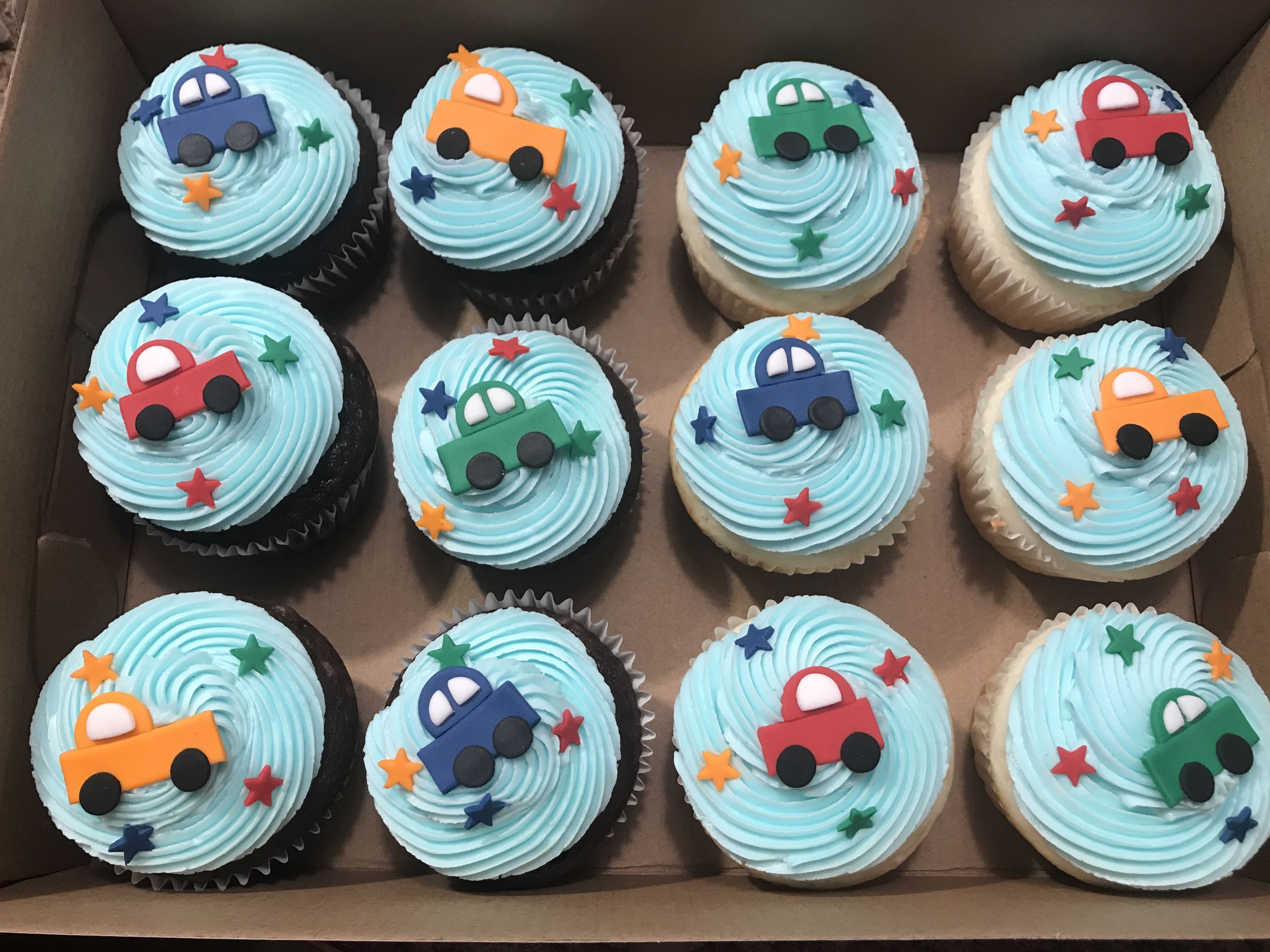 Car Cupcakes Birthday Cake Pictures Childrens Birthday Cakes