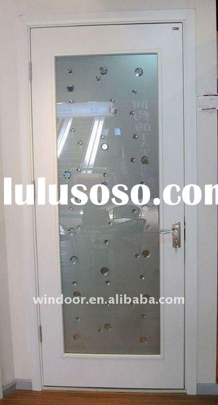 PVC frosted glass interior doors Pantry Door - frosted interior door