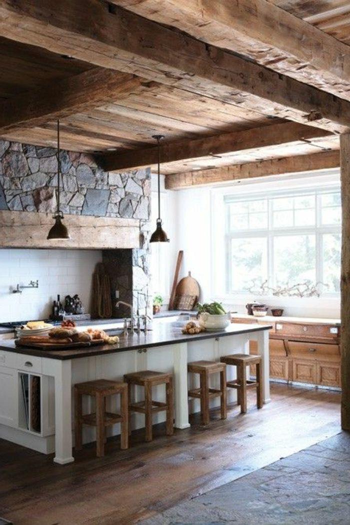 Quelles pierres de parement choisir pour votre pi ce - Refaire sa cuisine rustique en moderne ...