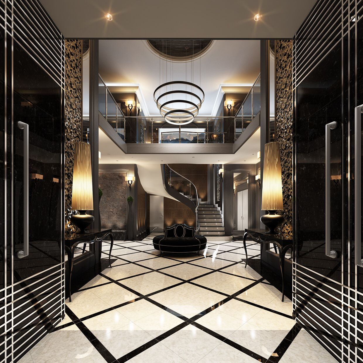 Dazzling And Luxurious Interiors For Your Inspiration