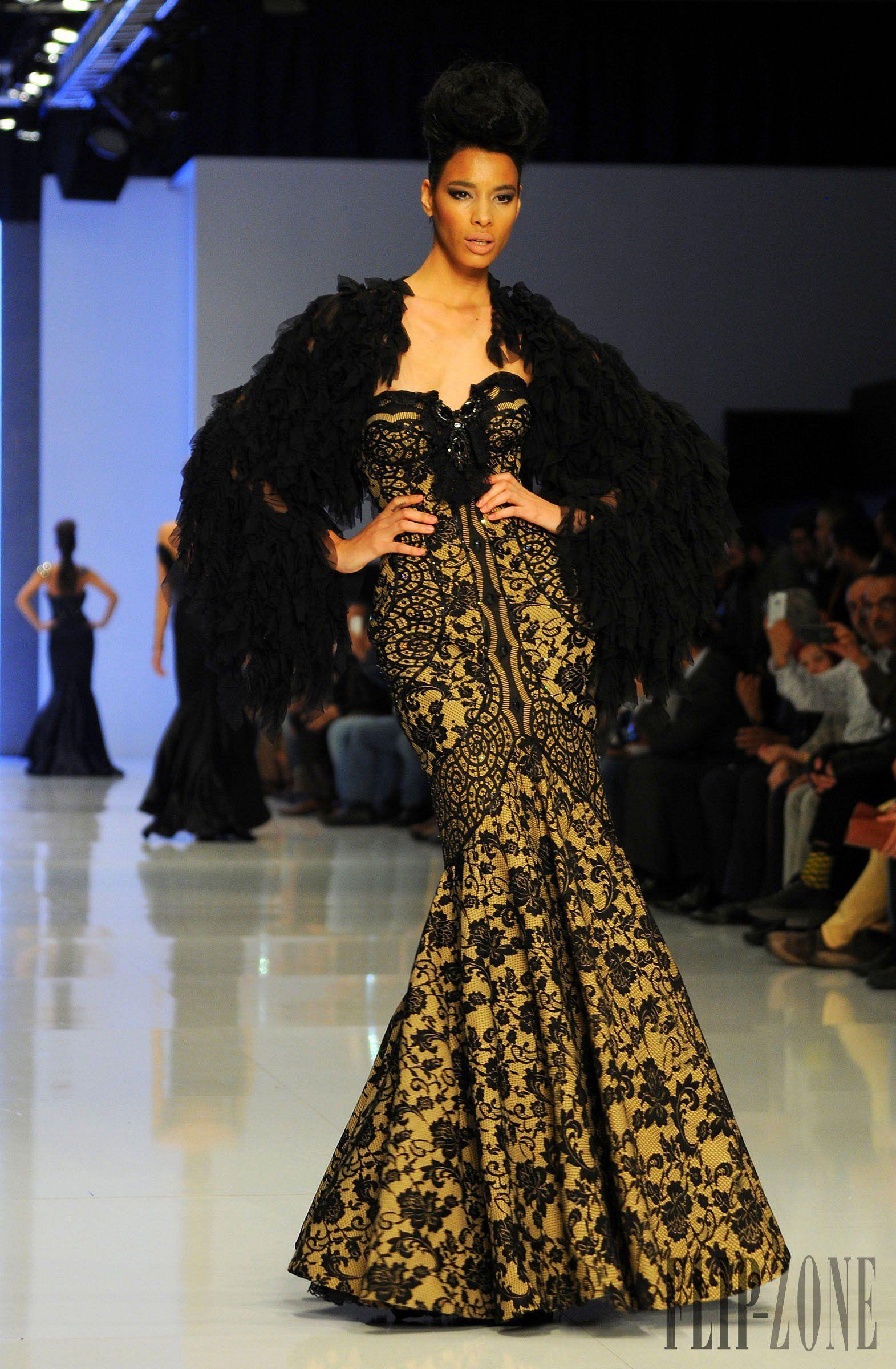 Fouad sarkis İlkbaharyaz couture evening fashion