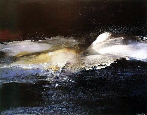 Zau Wou-Ki - painting | Zao wou ki, Zao, Art paysagiste