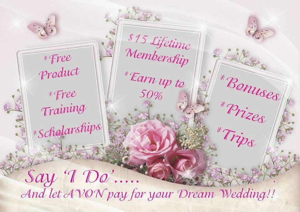 Earn your dream wedding with Avon. Join today www.youravon.com/marycquast