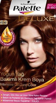 Palette 2017 Saç Renk Kartelası Palette Sıcak çikolata Saç Boyası