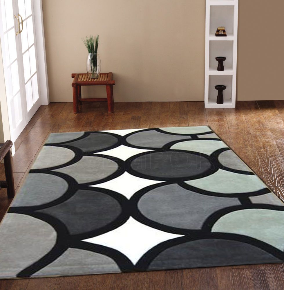 Details About X Large Medium Small Modern 1 2 Cm Thick Multi Colour Acrylic Carpet Rugs