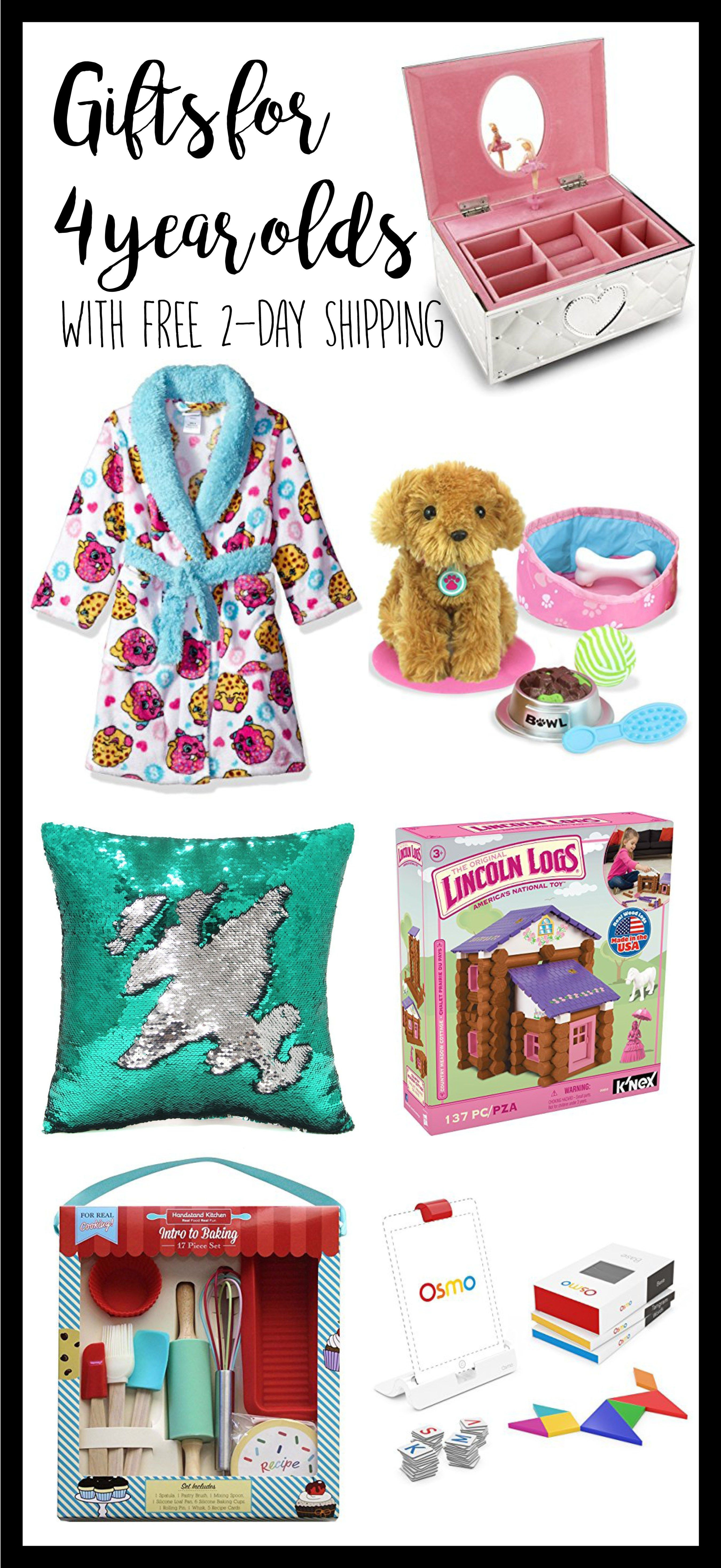 Gifts For 4 Year Old Girl Yo Gift Ideas Kids Christmas Girls Birthday