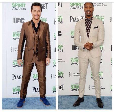 #Kitsch #Spotted #MatthewMcCanaughey & Michael B Jordan in #DolceAndGabbana