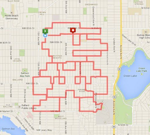 Runners Turn Their GPS Mapped Running Routes Into Art | Art ... on map my trip, map my distance, map my city, chart my route, map my run, plan my route, map of my land, map out a route trip, map my place, map my state, map my name, map my drives, mapping a route, map sf 5k route,