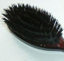 How to clean a boar bristle hair brush