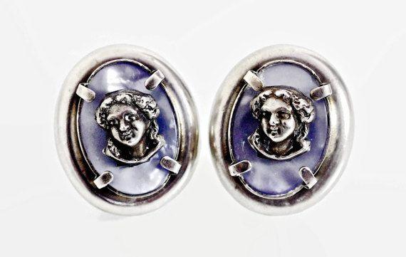 Jahrgang Jean Paul Gaultier Cherub Ohrringe von VintagEnMode