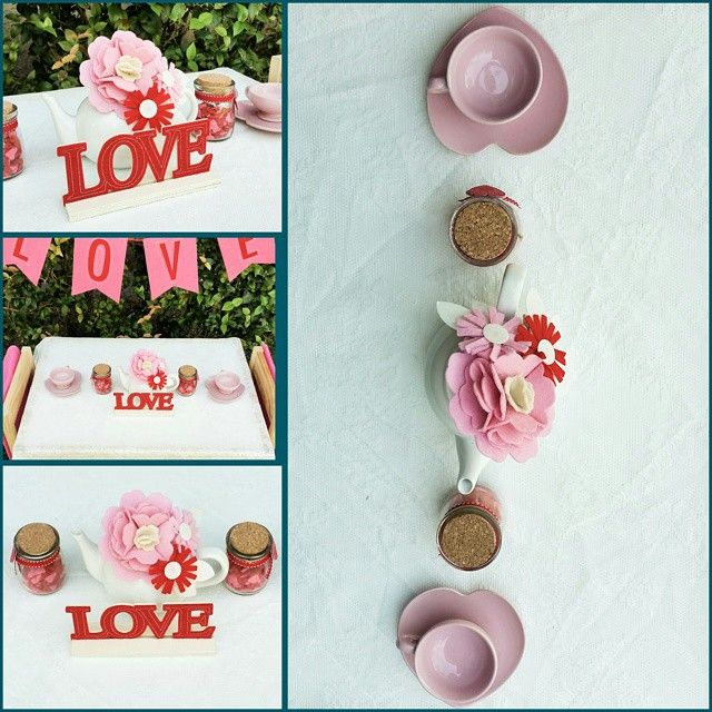 """The most darling tea cups ♡  #valentines #valentinesday #TeaforTwo #pinkandred #teacups #Eventstyling #partyplanning #kidsparties #kidsparty…"""