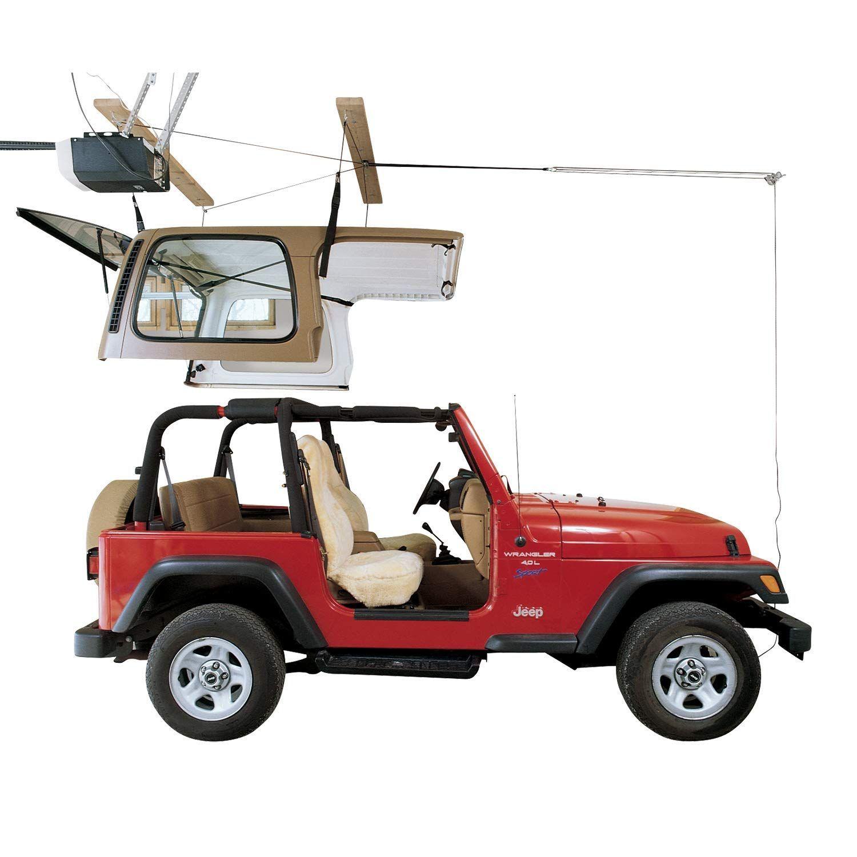 Harken Jeep Hardtop Garage Storage Ceiling Hoist 4 Point Jeep