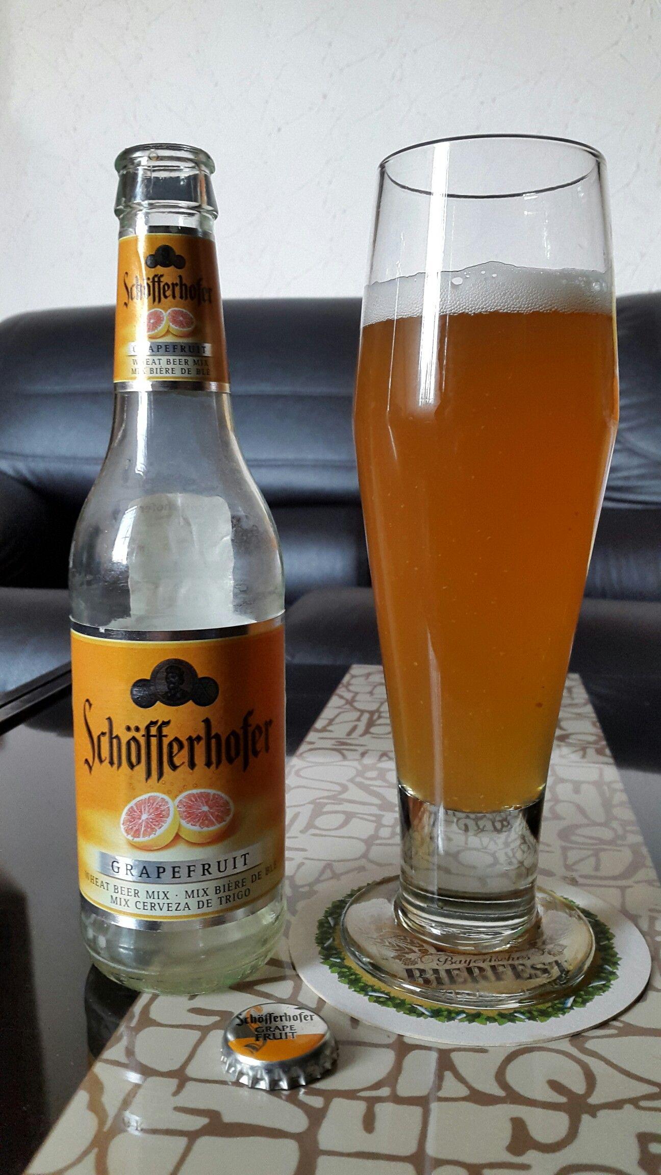 Schofferhofer Cerveza Alemana De Trigo Con Toronja Cerveza