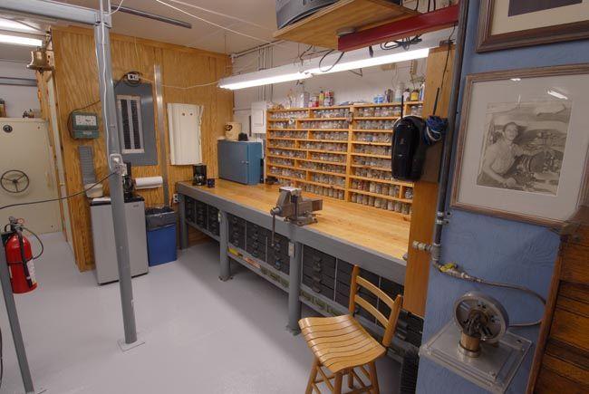 Randolph\'s Machine Shop Photos | Workshop | Pinterest | Werkstatt