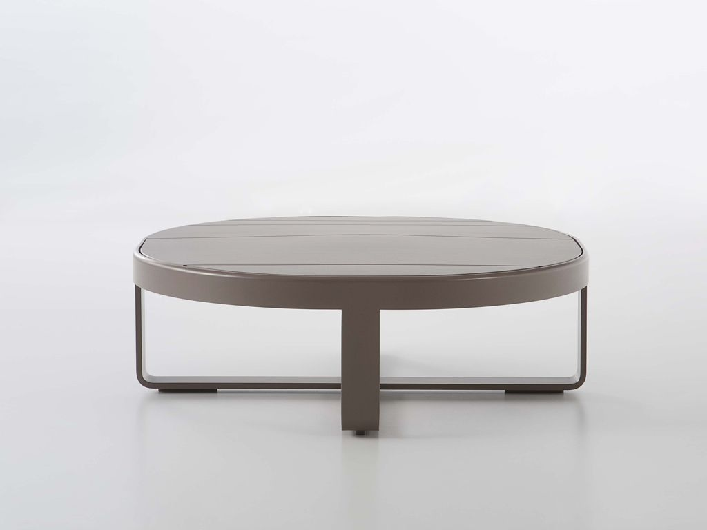Flat Outdoor Low Round Table Table Furniture Coffee Table Side