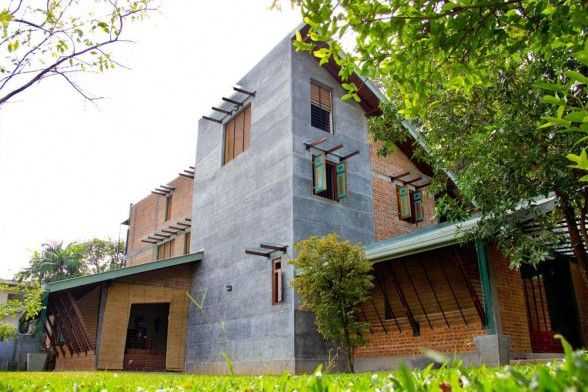 Eco Home In Sri Lanka Eco House House Architecture