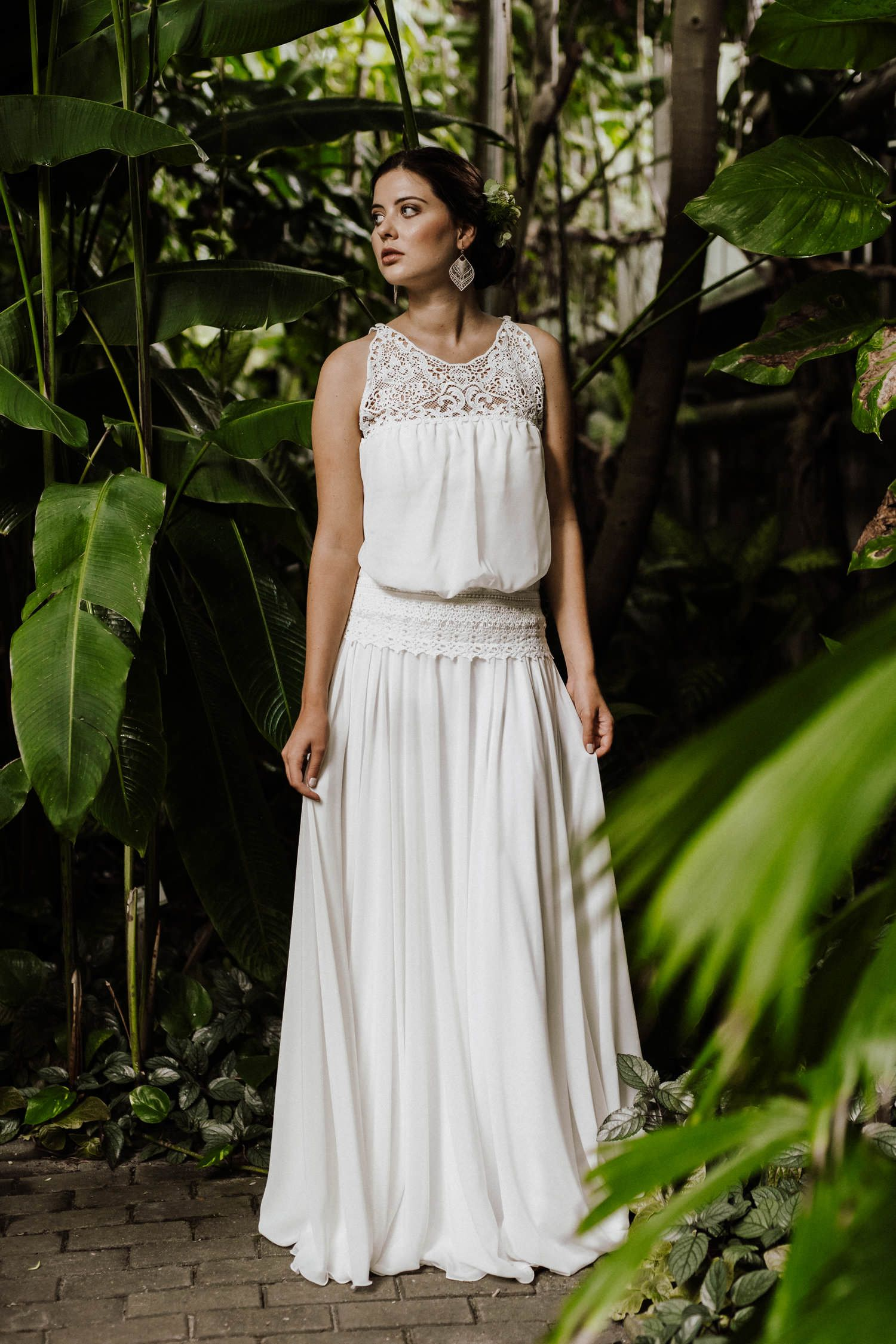 Veganes Hochzeitskleid im Boho-Look! Der lässige Hippie-Style