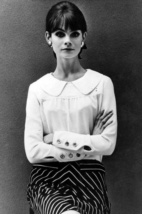 Jean Shrimpton, July 1964.