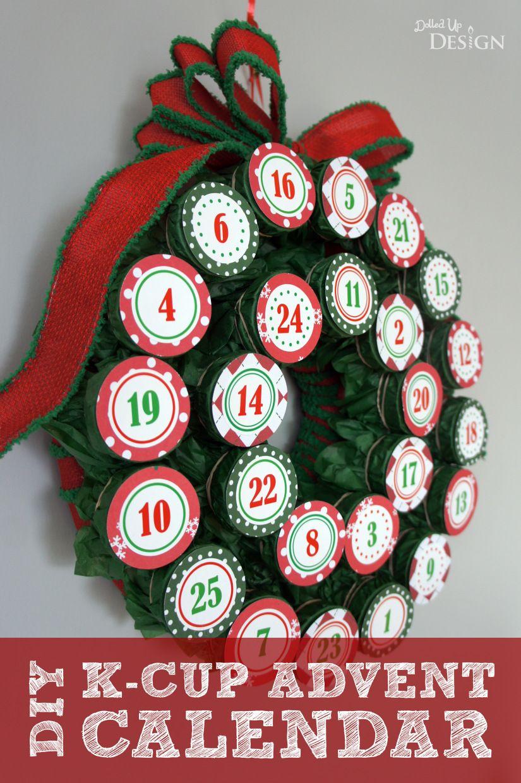 DIY K-Cup Advent Calendar | Diy advent calendar, Advent ...