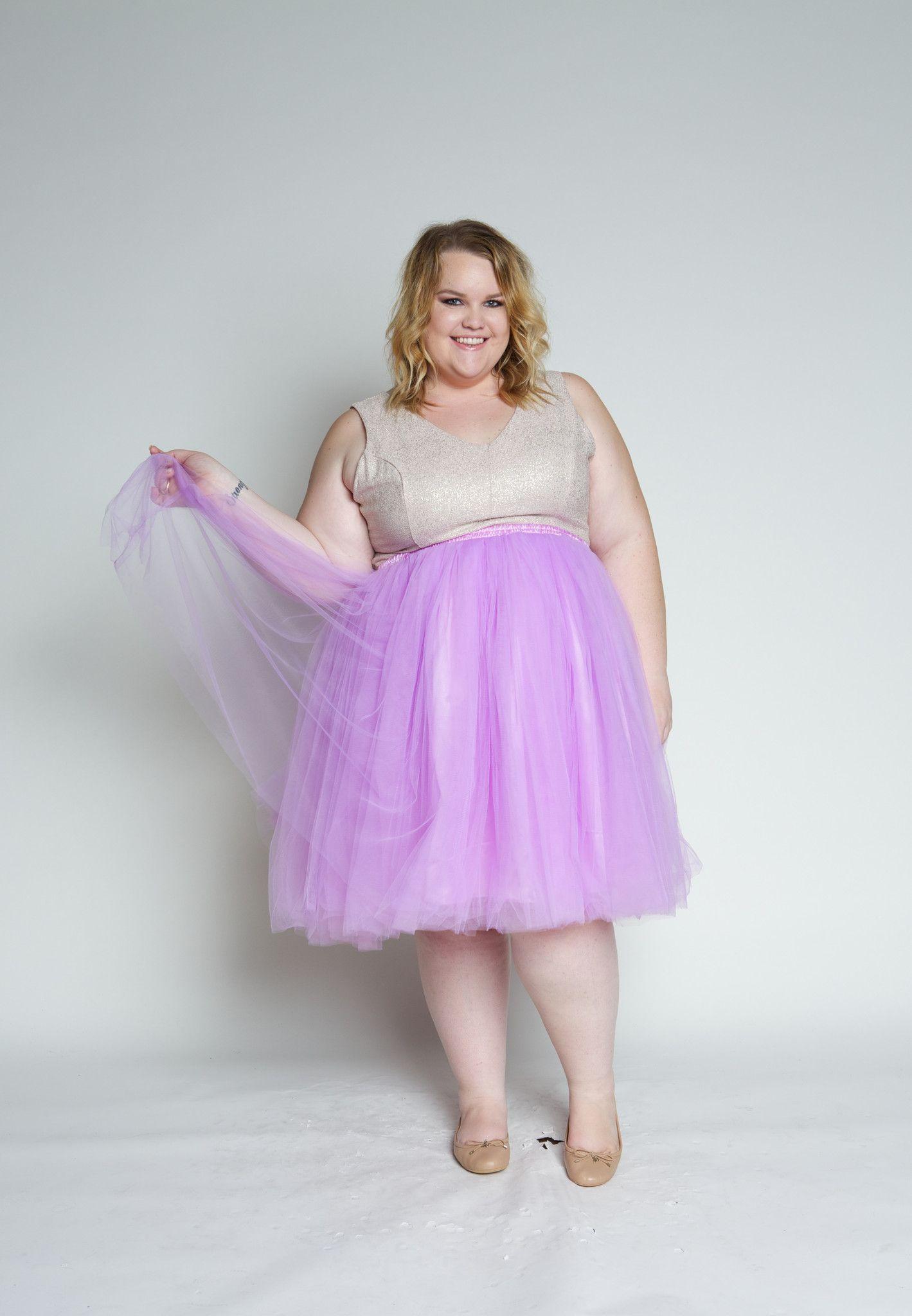Plus Size Clothing For Women Cool Gal Tutu Lavender Sizes 1x