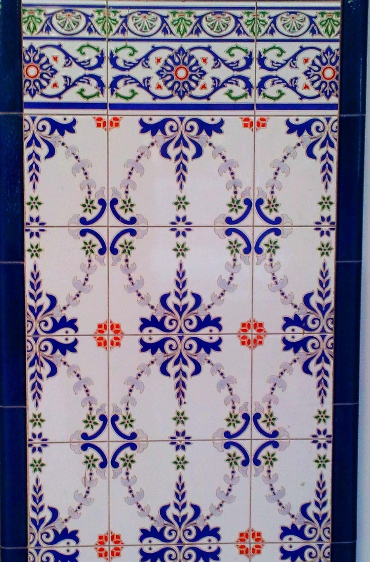Street Tiles In Valencia Spain Stencil Designs Tiles Prints