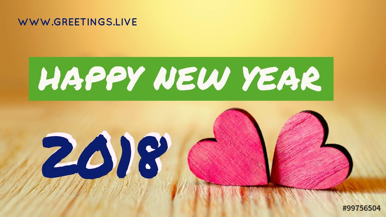 Lovely Happy New Year 2018 Greetings In English Language