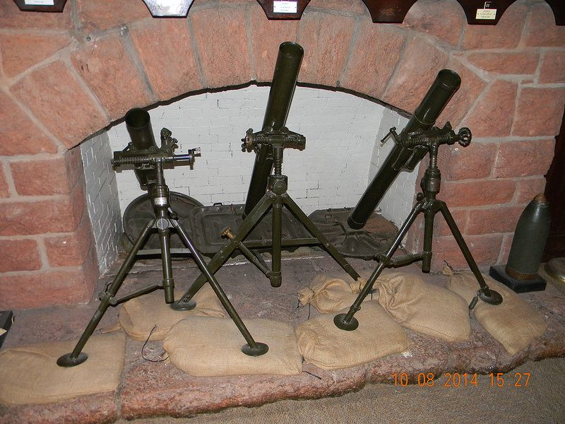 45th Infantry Division Museum Oklahoma City Oklahoma Mortars