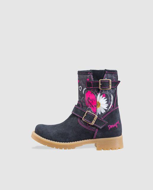 Zapatos negros Desigual para mujer GFj8Orn3Sd