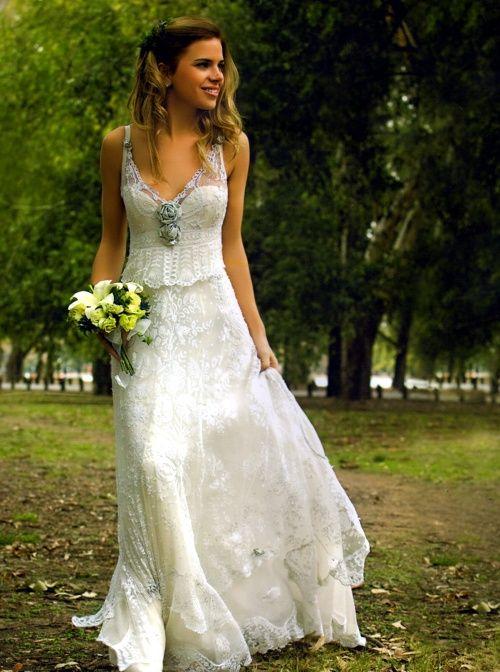 Vestidos de novia hippie santiago chile