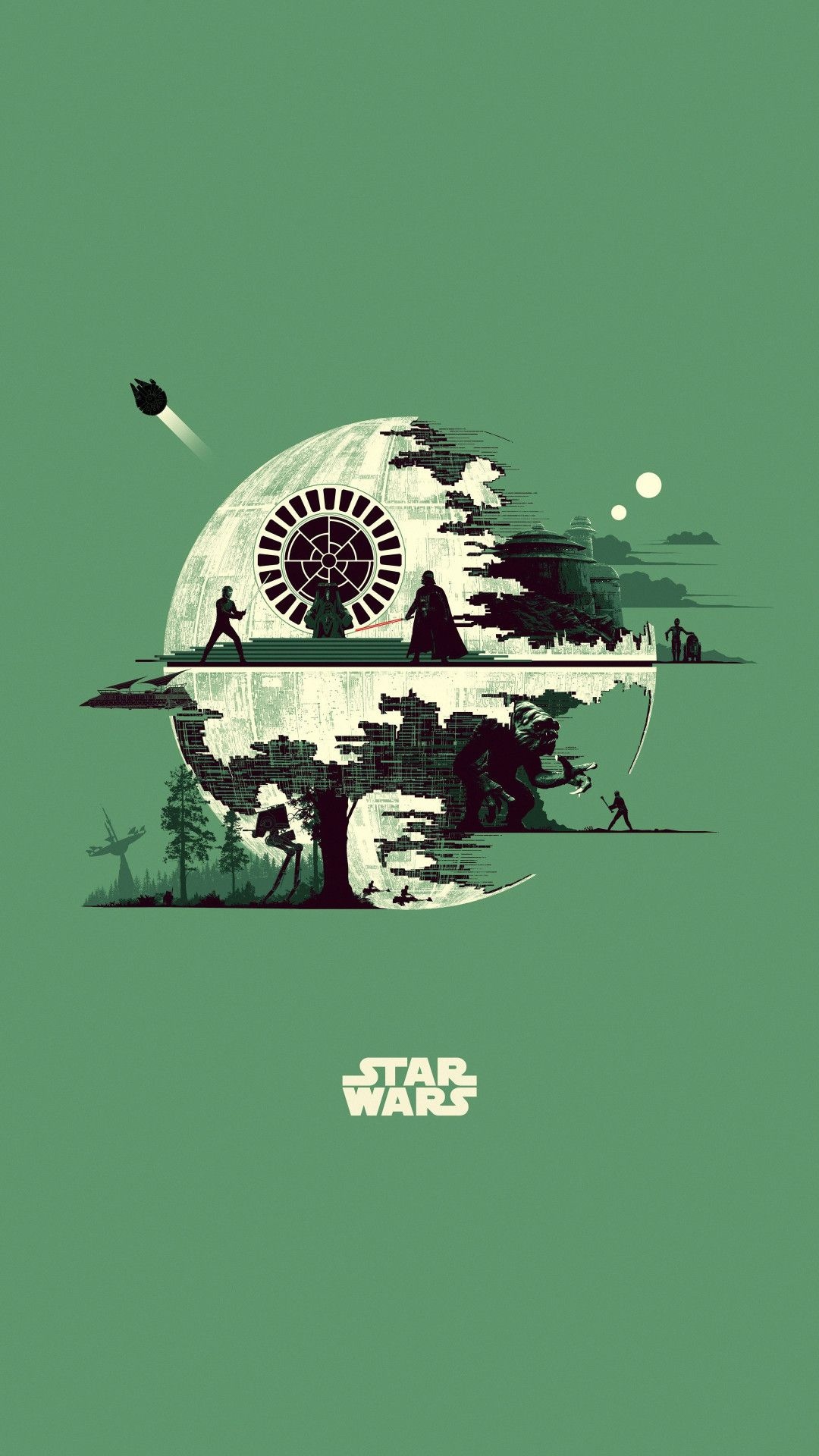 Star Wars Minimalism Artwork 5k Mobile Wallpaper Iphone Android Samsung Pixel Xiaomi In 2020 Star Wars Background Star Wars Wallpaper Star Wars Images