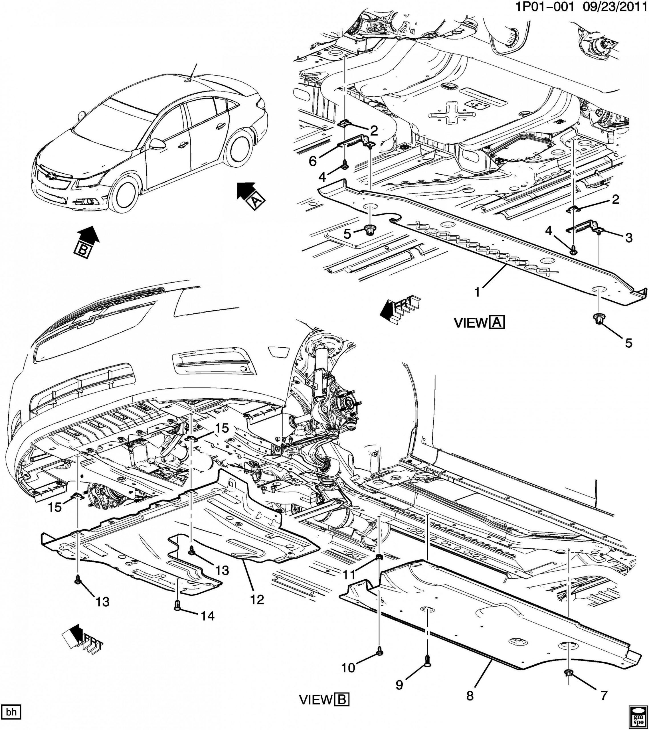 6 Chevy Cruze Engine Parts Diagram Di