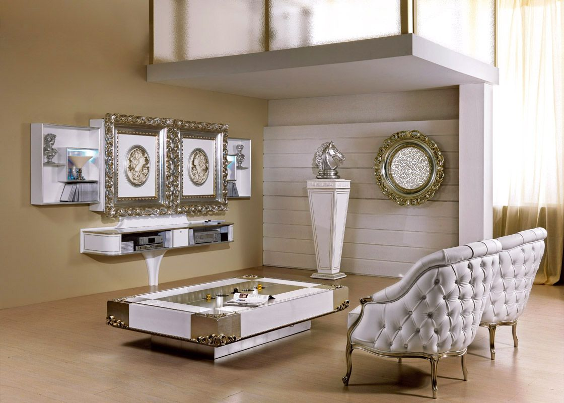Tv Stand With Sliding Doors Computerized And Motorized Wall Unit  # Deco Table Tele Plus Homecimema