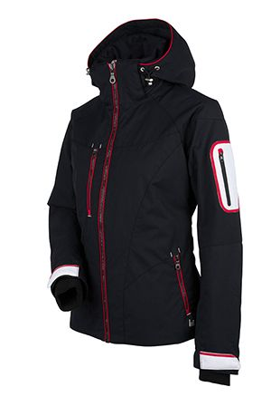 Women s ski and snowboard jacket. Let Kristina spice up your outfit with  her fun 7c1c48467