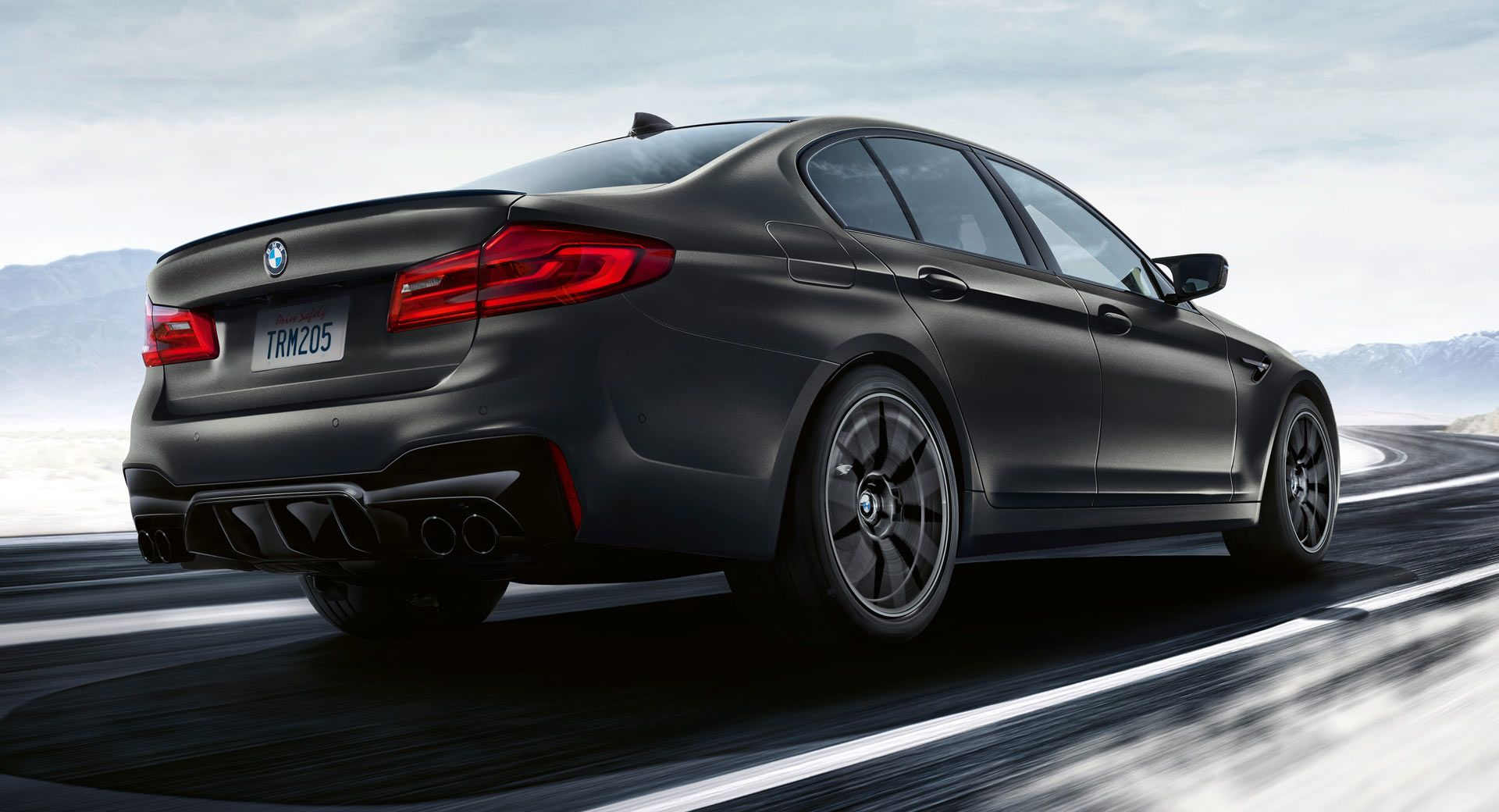 2020 Bmw M5 Edition 35 Years Has A Gold Trimmed Interior 617hp