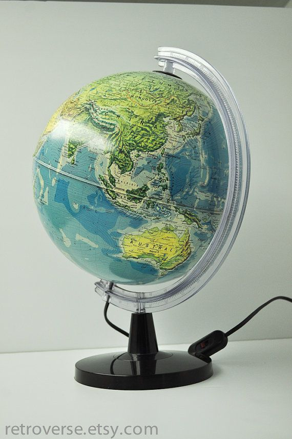 World map globe lamp from holland italian made maps and globes world map globe lamp from holland italian made gumiabroncs Images