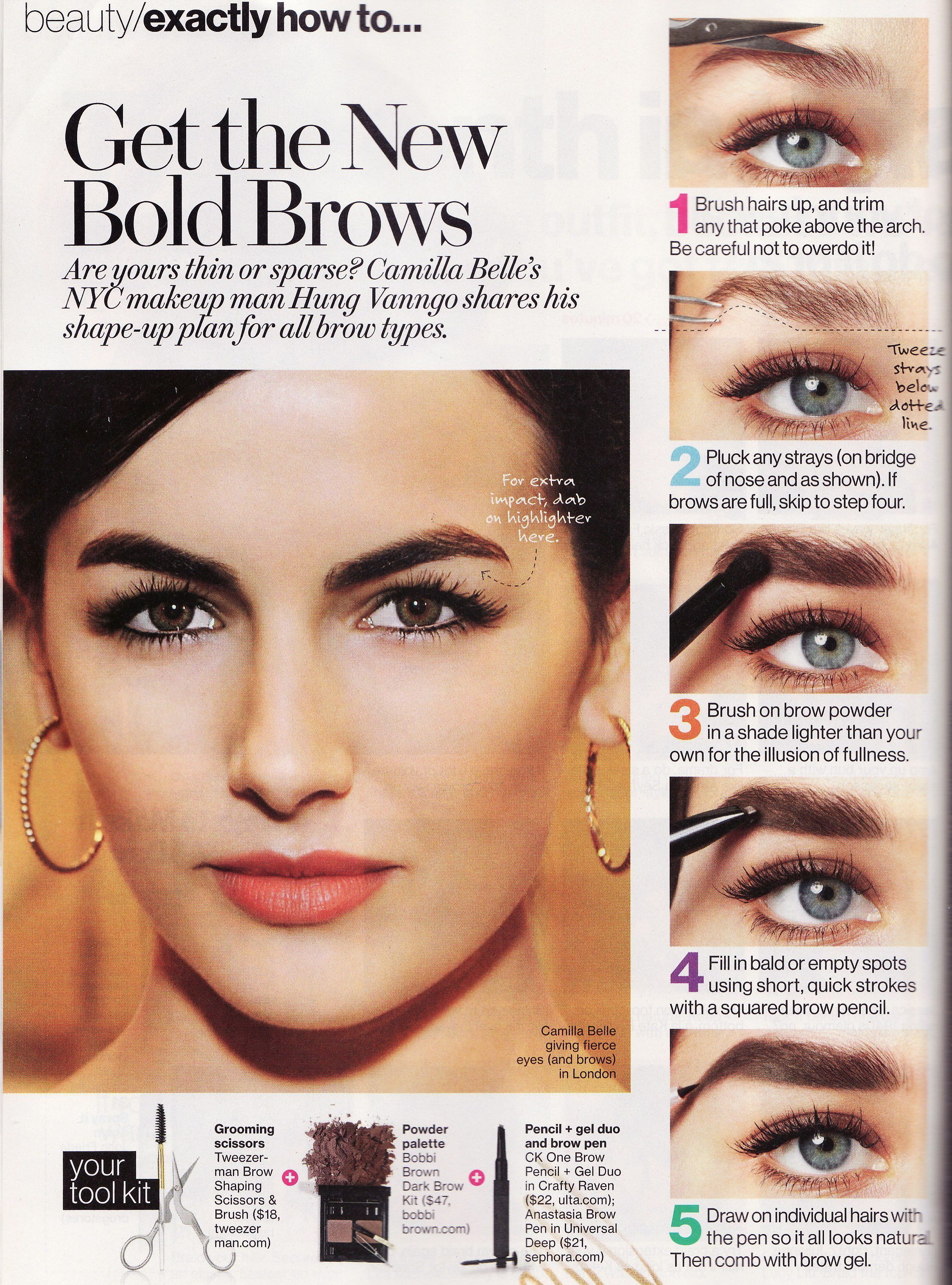 Shaping Full Brows Makeup Fun Pinterest Brows Eyebrow And Makeup