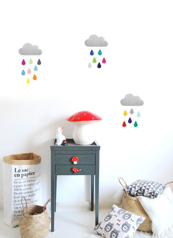 Cool wall stickers for the kids room petit small
