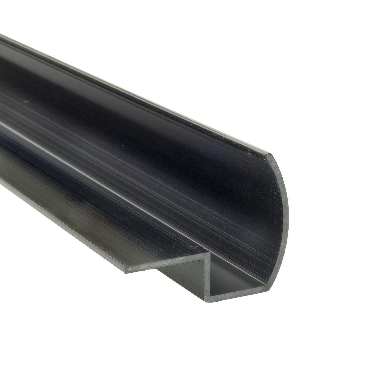 Half Bullnose Edge Profile Concrete Countertop Forms With