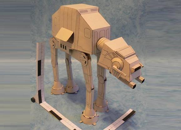 Star wars tb tt assault vehicle papercraft papercraft - Lego star wars tb tt ...