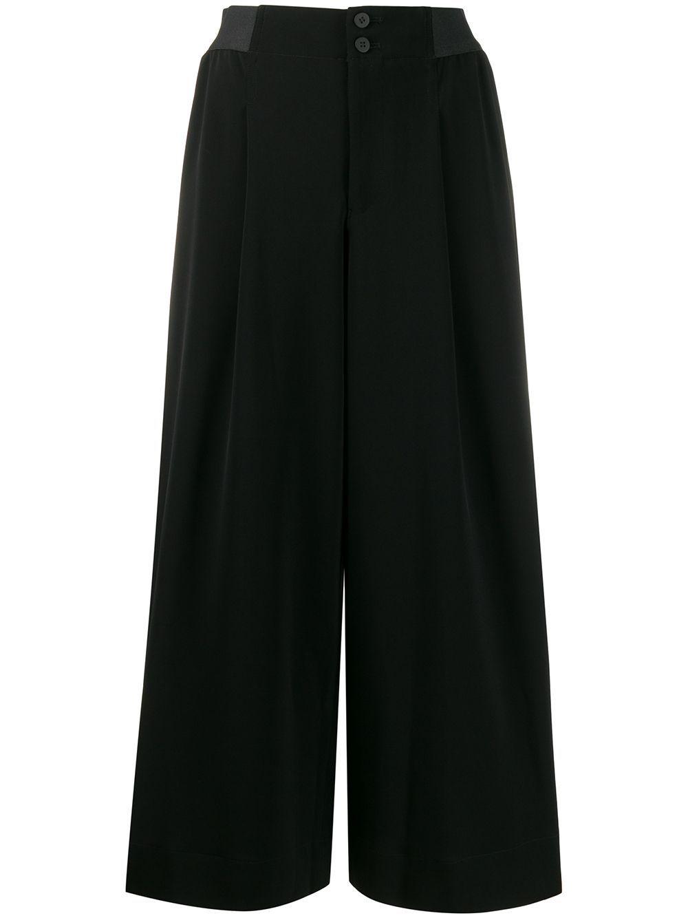 Photo of Issey Miyake Larghi palazzo pants – Black
