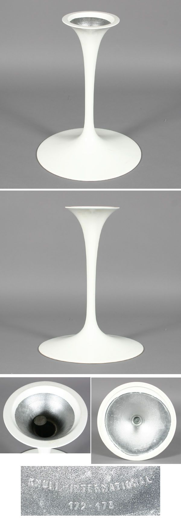 Tulip Table Base Eero Saarinen Knoll Eames Era Antique Helper - Saarinen table base for sale