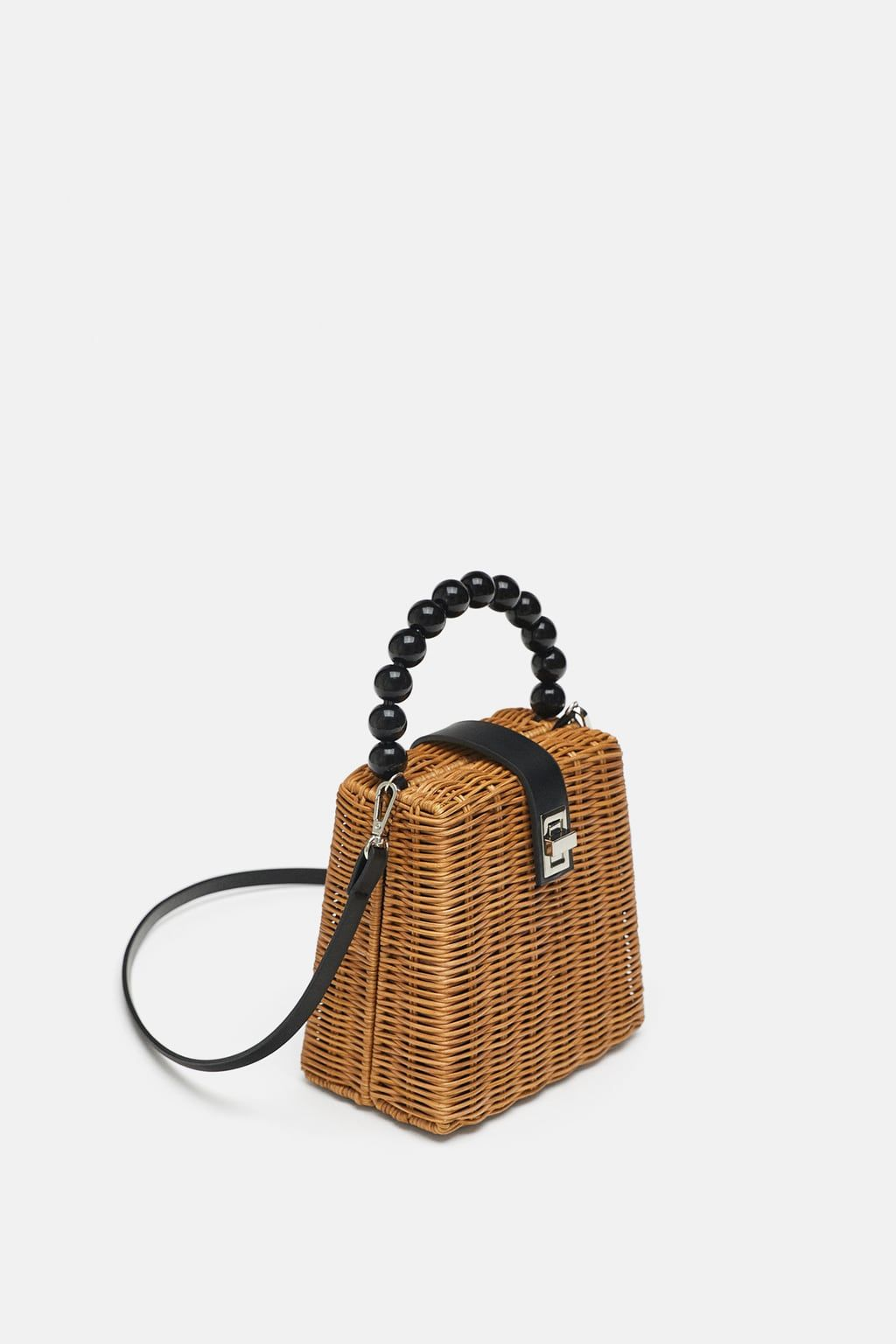 9c8ac5168 Modern Basket Bag (Zara) | Dressing Up in 2019 | Bags, Box bag ...