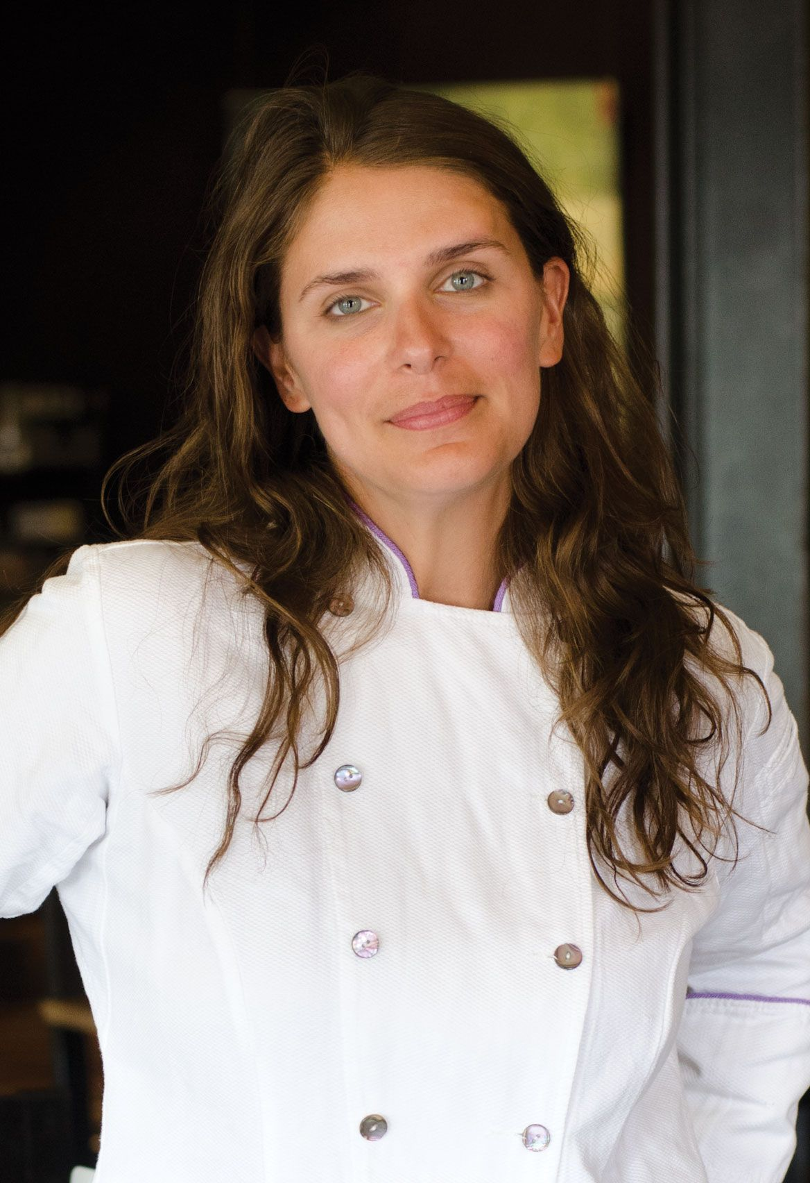 Vivian Howard. Her accent stirs me.....