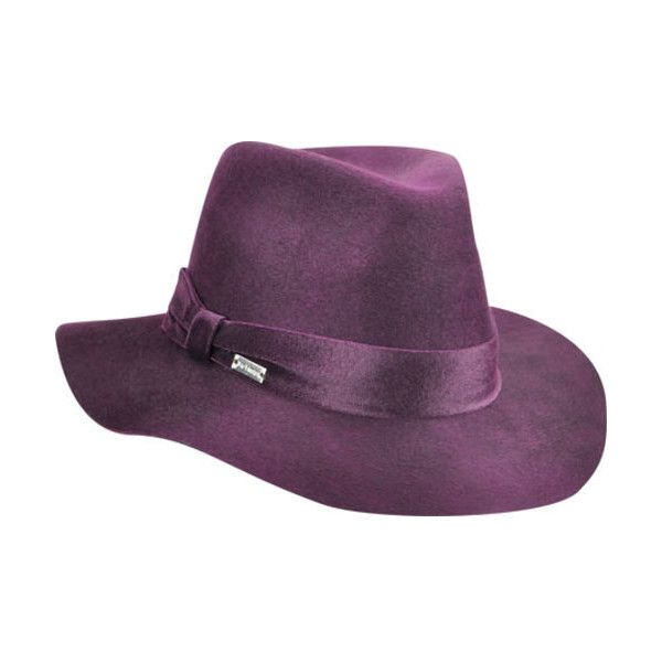 2932bd1a Women's Betmar Izette II Fedora ($86) ❤ liked on Polyvore featuring  accessories, hats, burgundy, wide brim fedora hat, fedora hat, wide brim  floppy hat, ...