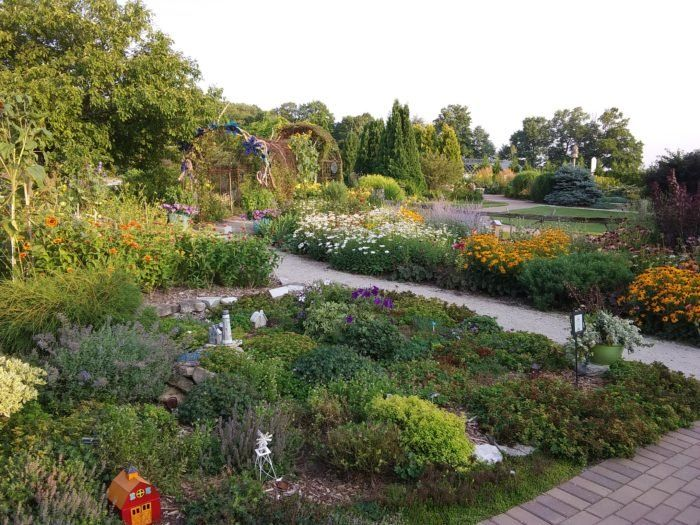 Step Inside This Enchanting Garden In Wisconsin For An