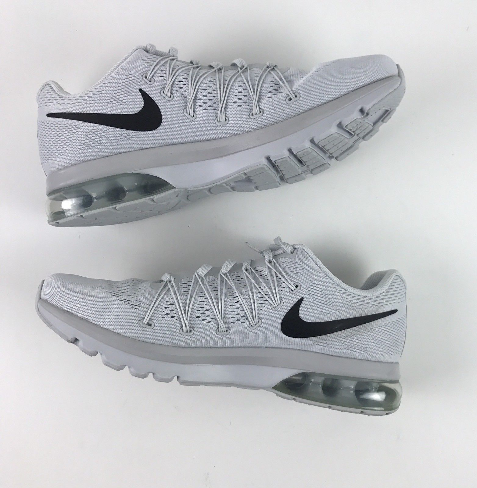 9a69da3227cee Nike Air Max Excellerate 5 Pure Platinum Black Mesh 852692-004 Men s Size  11.5 SIZE