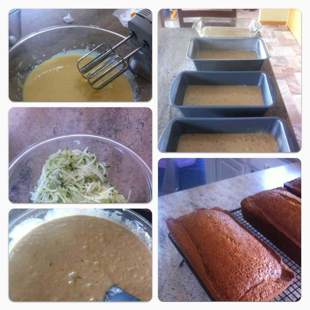 The best zucchini bread recipe I've found. It is very moist thanks to the inclusion of crushed pineapple in the recipe. The recipe is your on the Patriot Hill Homepage; http://www.patriothill.net/Patriot_Hill/Food/Entries/2012/8/4_Day_of_longboarding.html