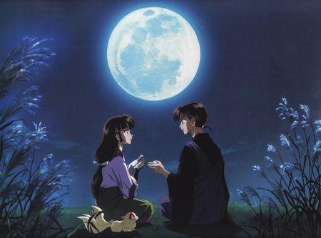 Moonlight Love Inuyasha Wallpaper Id 277213 Desktop Nexus