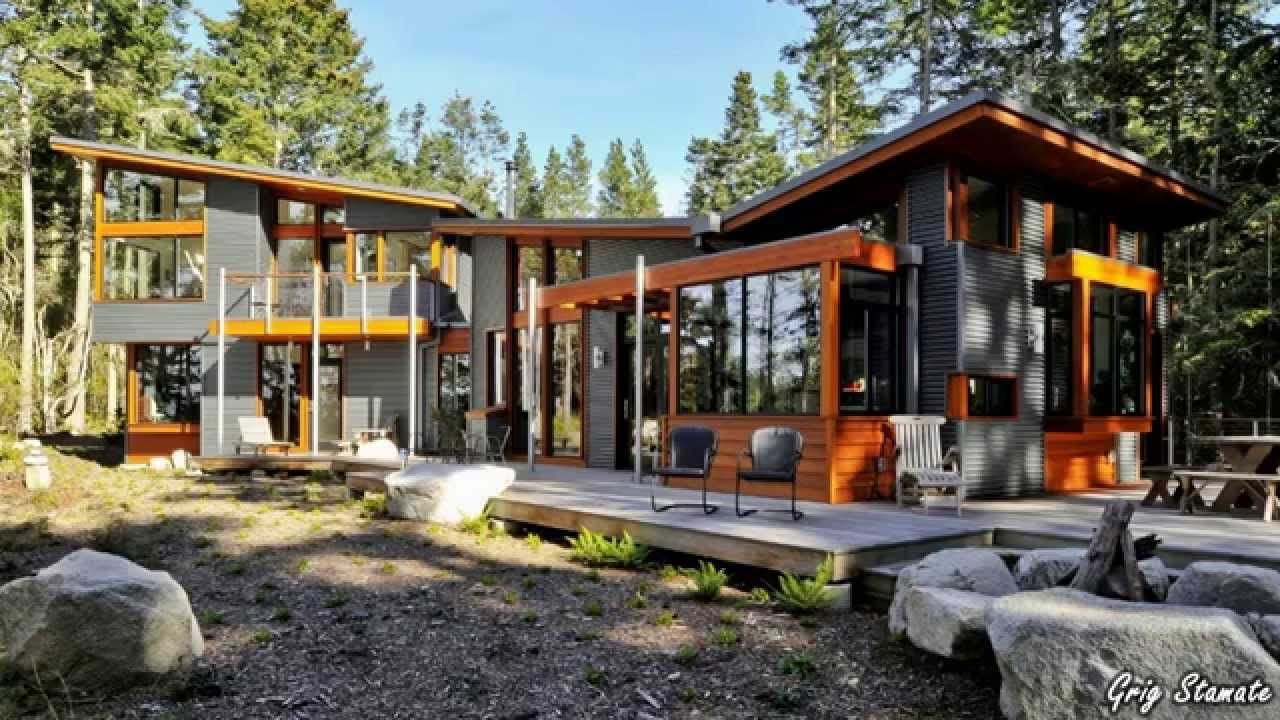 houses from corrugated metal awesome steel homes youtube - Metal Homes Designs